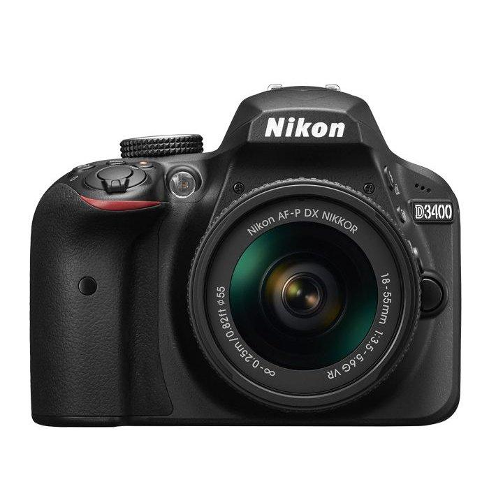 Nikon D3400 w/ 18-55mm f/3.5-5.6 AF-P VR