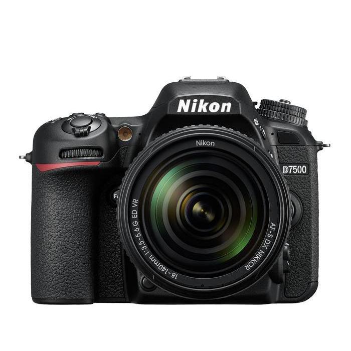 Nikon D7500 w/ 18-140mm f/3.5-5.6 VR