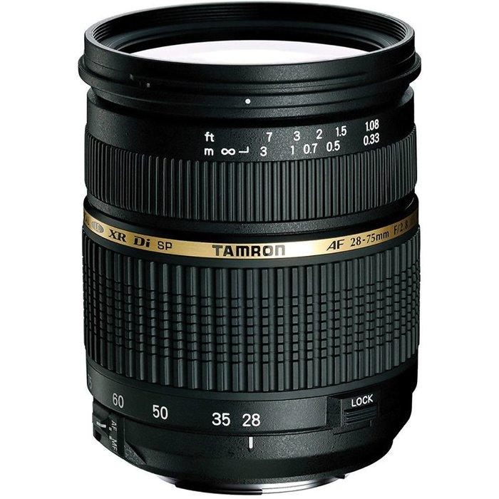 Tamron SP AF 28-75mm f/2.8 Di - Canon