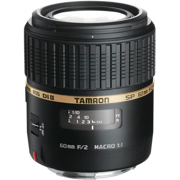 Tamron SP AF 60mm f/2 Macro Di II - Nikon