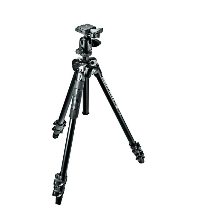 Manfrotto 290 Lite Tripod w/ 494RC2 Ball Head