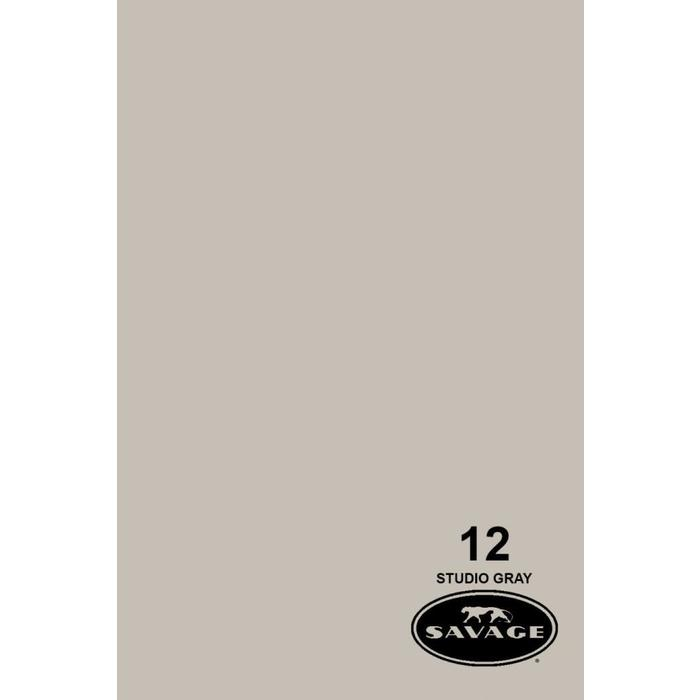 "Savage 107"" Seamless Paper Studio Gray"