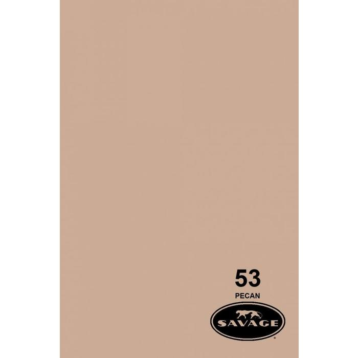 "Savage 53"" Seamless Paper Pecan"