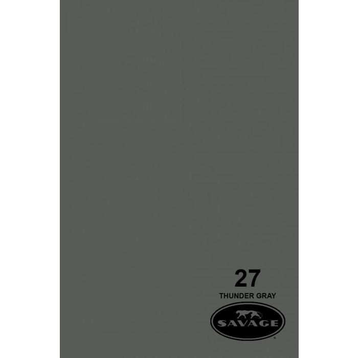 "Savage 107"" Seamless Paper Thunder Gray"