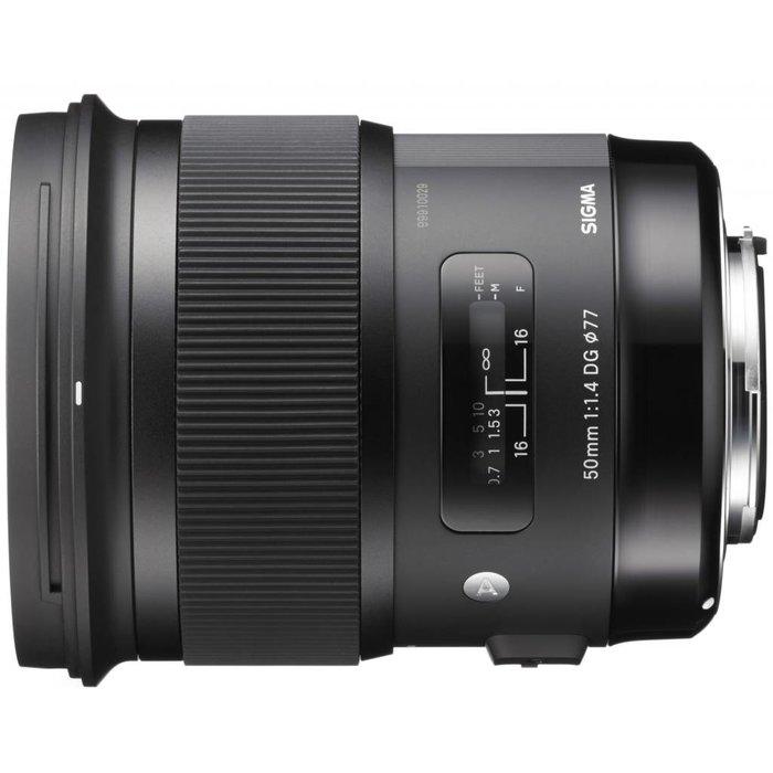 Sigma 50mm f/1.4 Art DG HSM - Canon