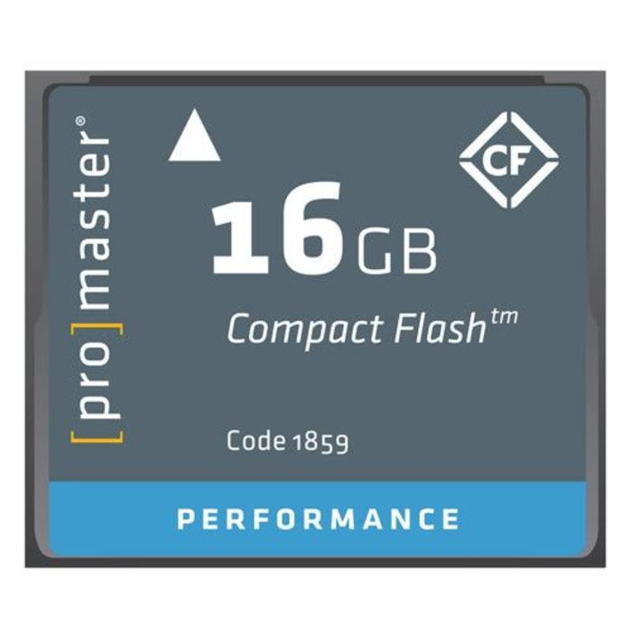 ProMaster CF 16GB Performance