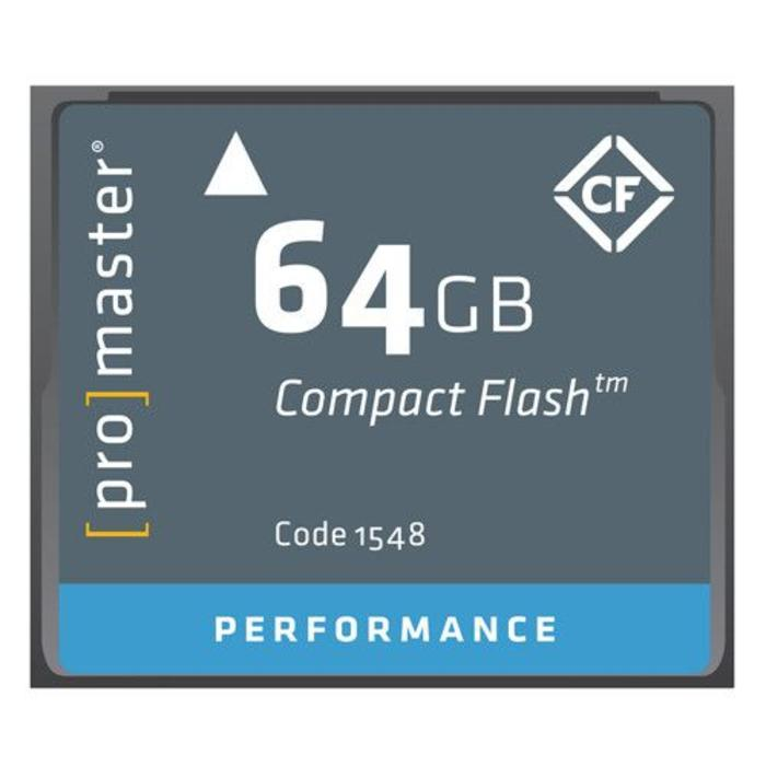 ProMaster CF 64GB Performance
