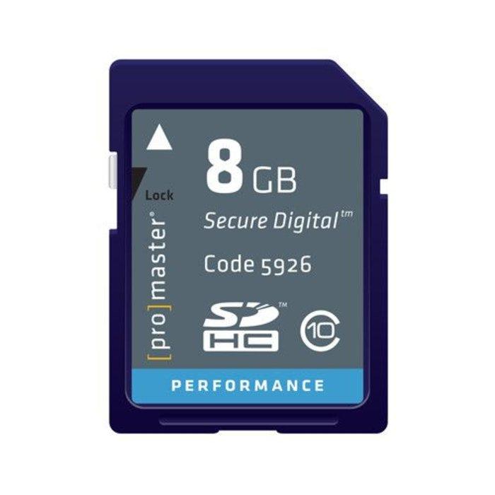 ProMaster SDHC 8GB Performance 163x