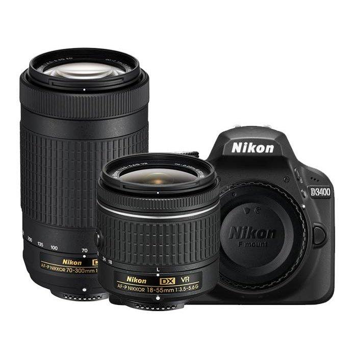 Nikon D3400 Double Zoom Lens Kit