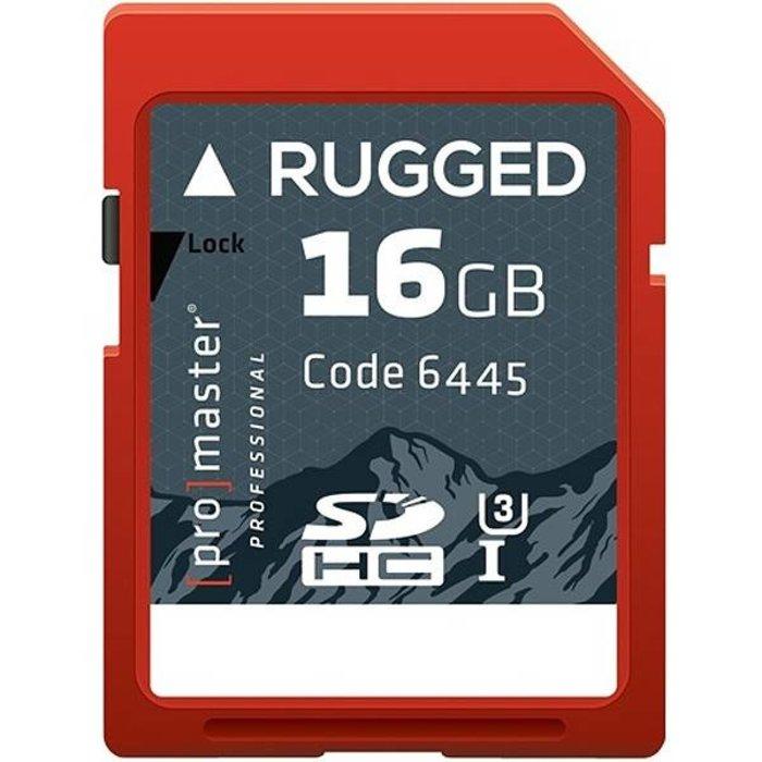 ProMaster SDHC 16GB Pro Rugged