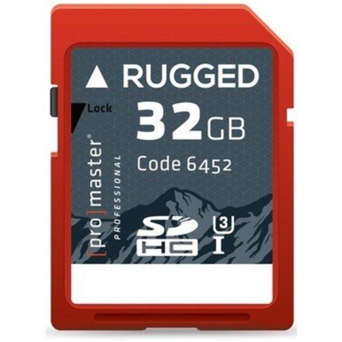 ProMaster SDHC 32GB Pro Rugged