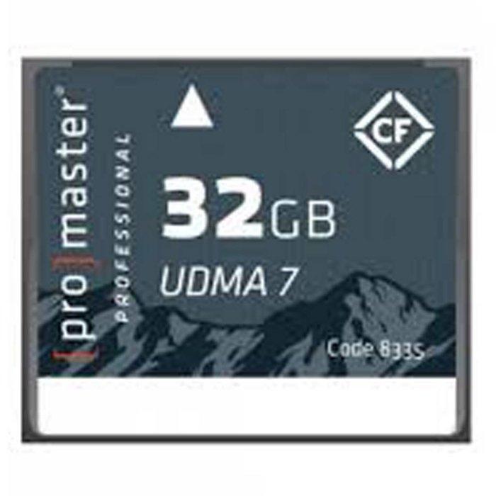 ProMaster CF 32GB Pro Rugged UDMA7