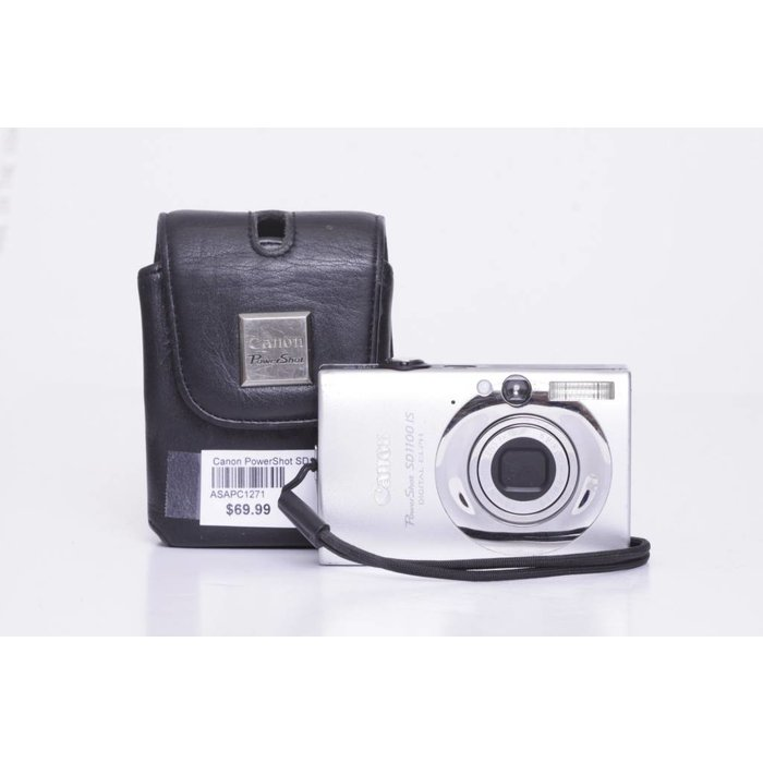 Canon PowerShot SD1100 IS - Silver