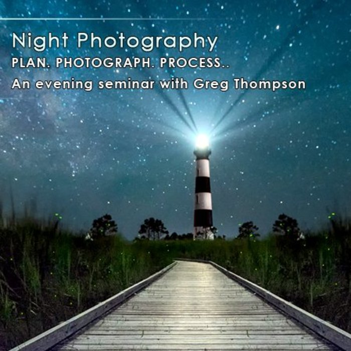 Night Photography Class (May 23, 2018)