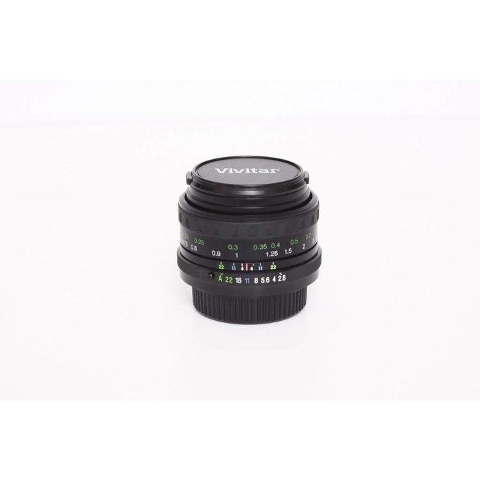 Vivitar 28mm f/2.8 MC - Pentax K Mount