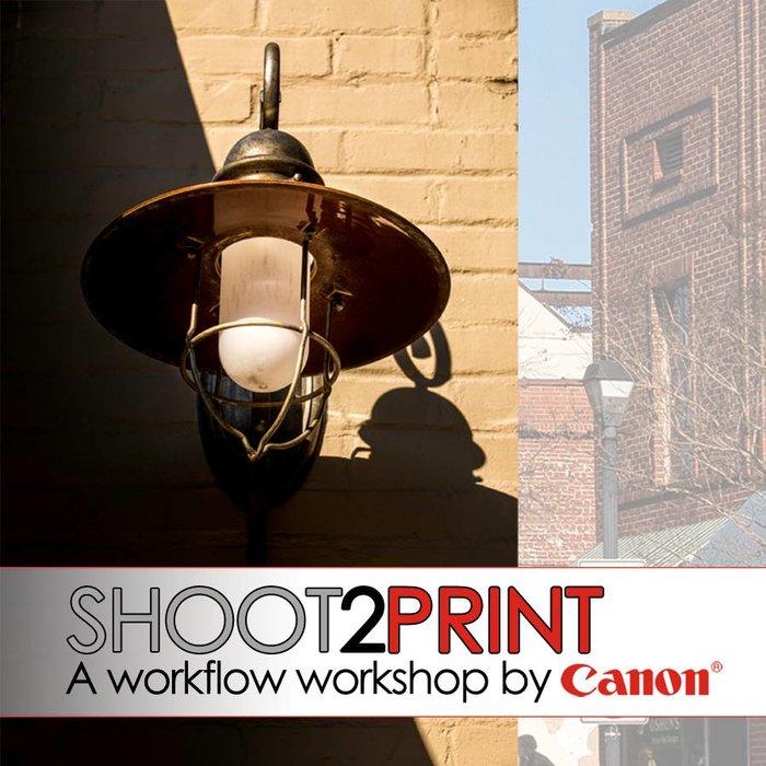 """Canon """"Shoot to Print"""" Seminar (Nov 3 & 4, 2017)"""