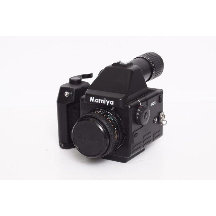 Mamiya 645Ew/ 80mm f/2.8 N and Rapid Winder Grip - 120 Insert