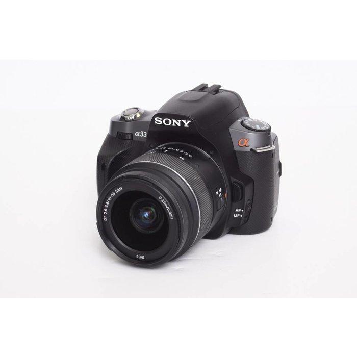 Sony a330 w/ 18-55mm f/3.5-5.6