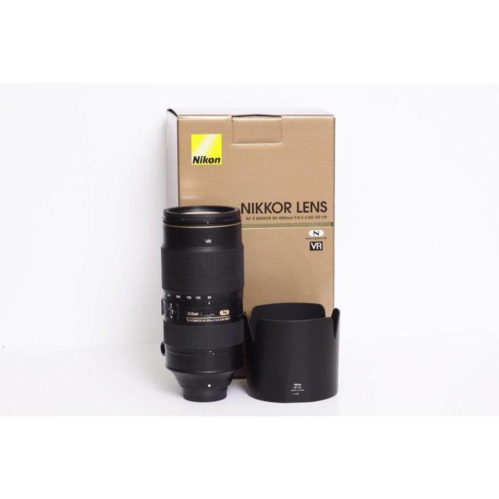 Nikon AF-S 80-400mm f/4.5-5.6G ED VR II