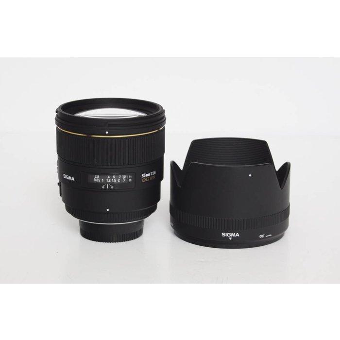 Sigma 85mm f/1.4 EX DG HSM Lens - Nikon F Mount