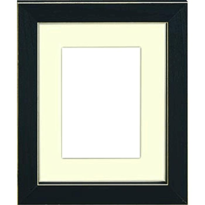 Clean Cut Frame Black (5x7)