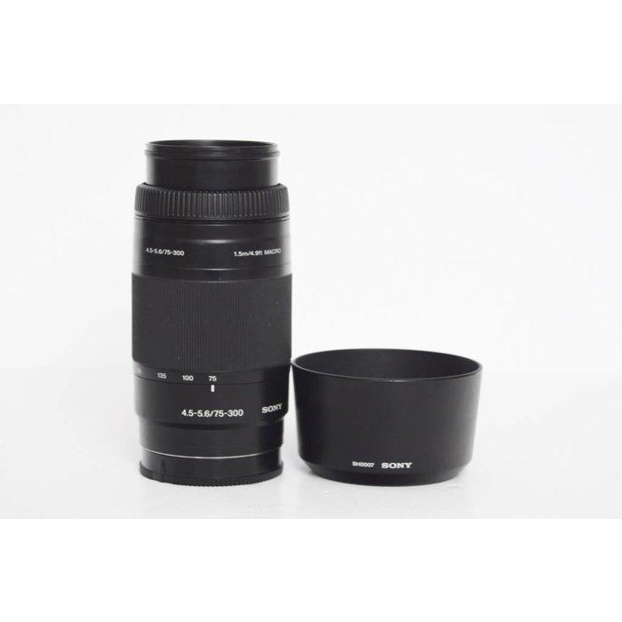 Sony SAL 75-300mm f/4.5-5.6