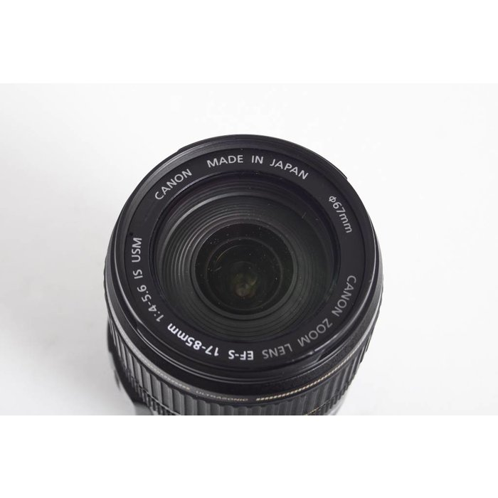 Canon EF-S 17-85mm f/3.5-5.6 IS USM