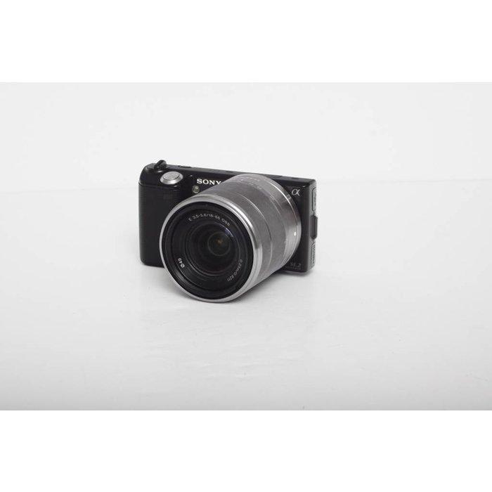 Sony NEX-5 w/ 18-55mm OSS - Black