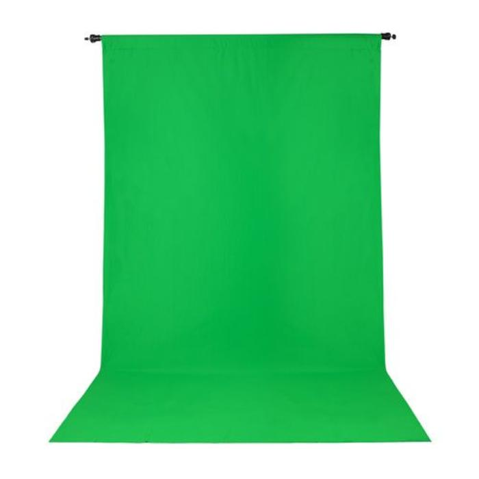 ProMaster 10x12 Solid Muslin Backdrop - Chromakey Green