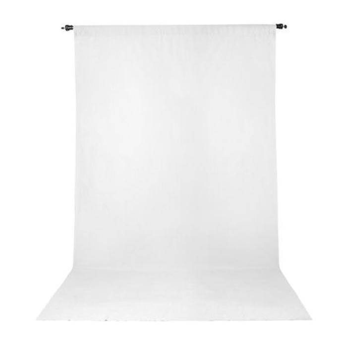 ProMaster 10x20 Solid Muslin Backdrop - White