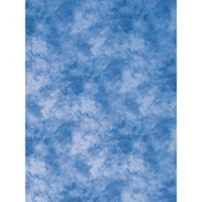 ProMaster 6x10 Cloud Dyed Backdrop - Medium Blue