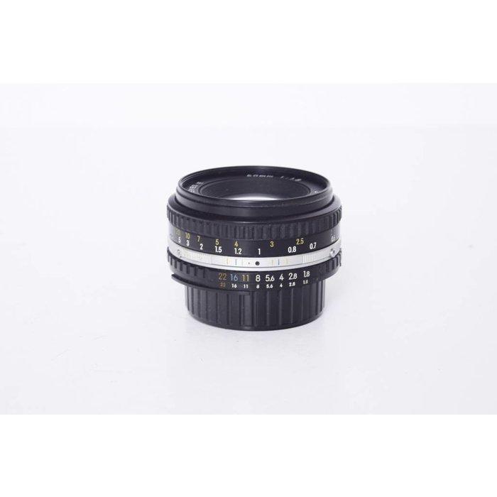 Nikon 50mm f/1.8 AI-S Series E
