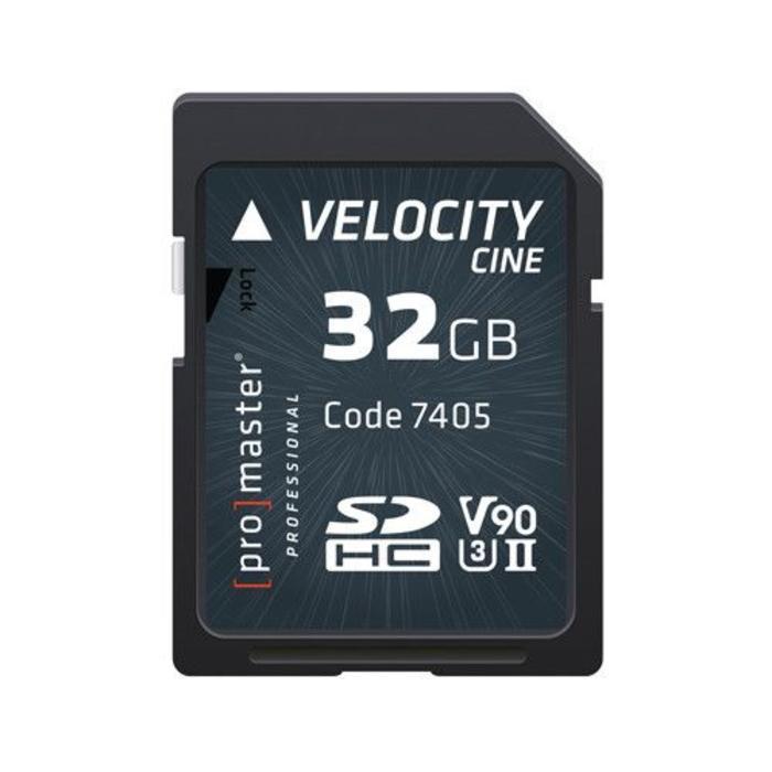 ProMaster Velocity CINE SDHC 32GB
