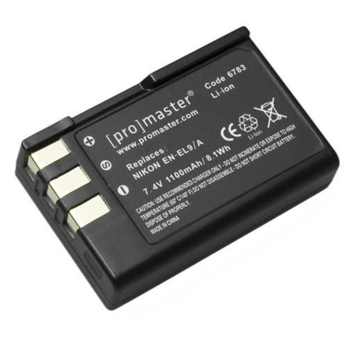 ProMaster EN-EL9a Battery