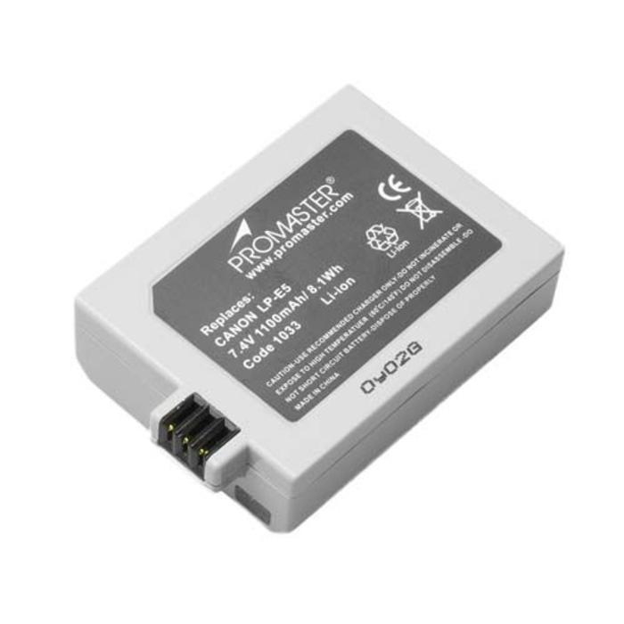 ProMaster LP-E5 Battery