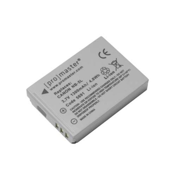 ProMaster NB-5L Battery