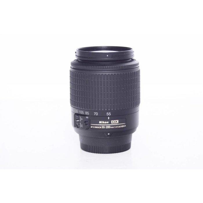 Nikon AF-S 55-200mm f/4-5.6G ED