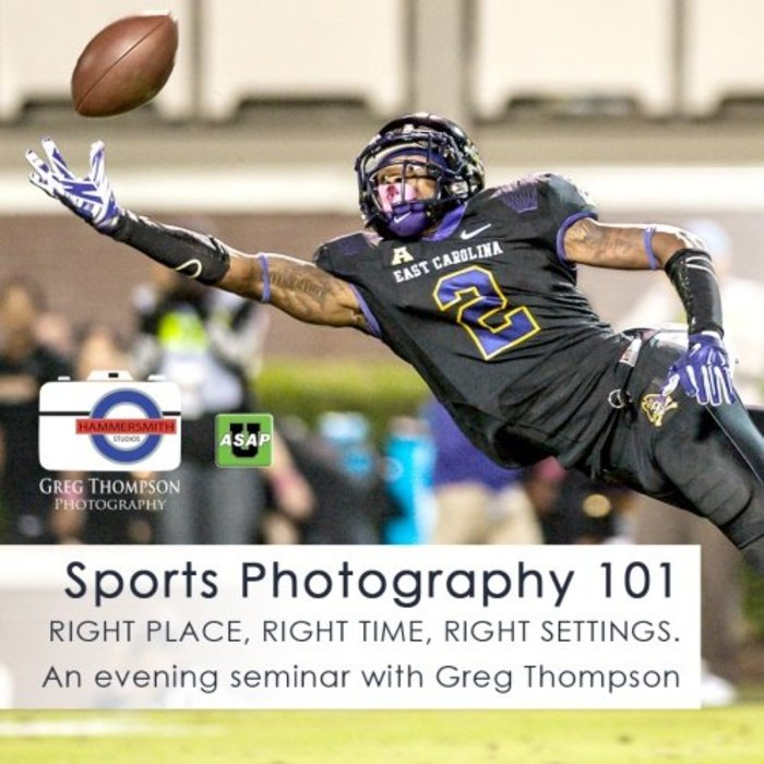 Sports Photography 101 (April 25, 2018)