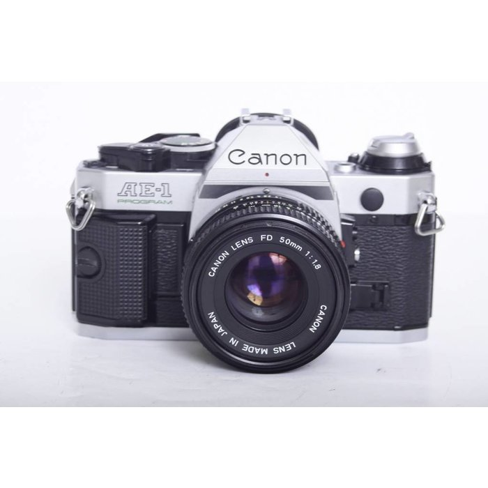 Canon AE-1 Program w/ FD 50mm f/1.8