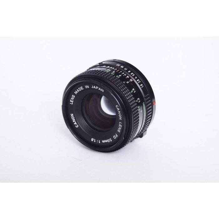 Canon FD 50mm f1.8