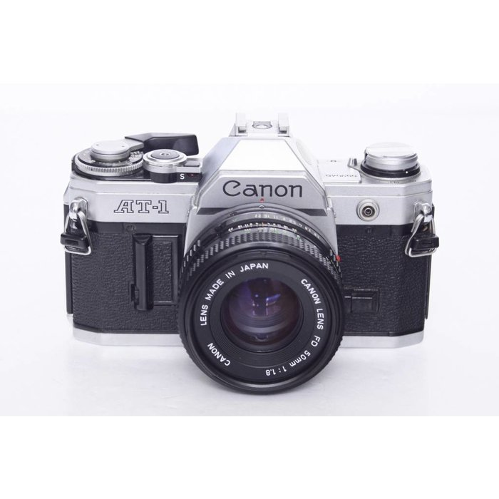 Canon AT-1 w/ 50mm f/1.8