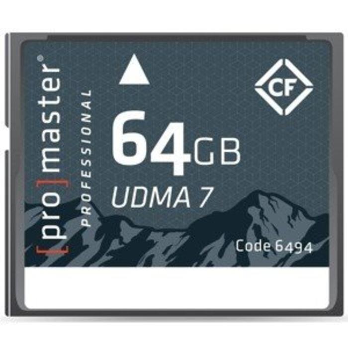 ProMaster CF 64GB Pro Rugged UDMA7
