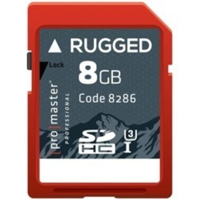 ProMaster SDHC 8GB Pro Rugged