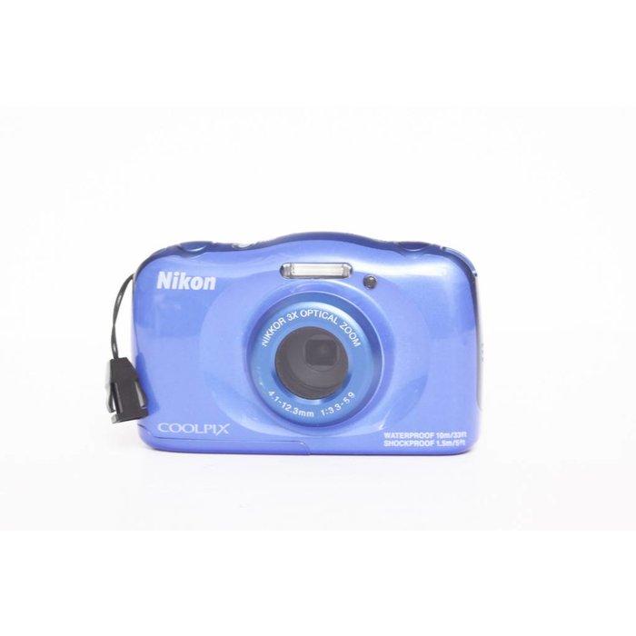 Nikon Coolpix S33 - Blue