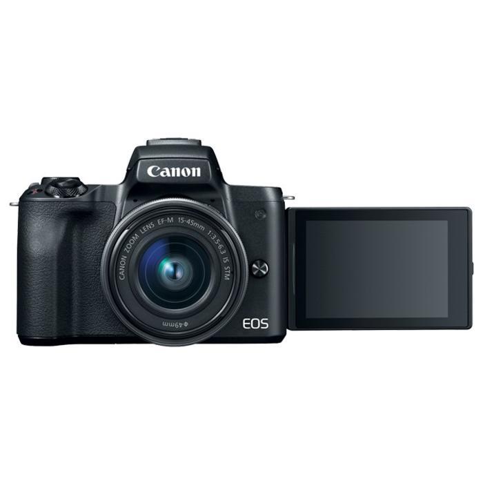 Canon EOS M50 w/ EFM 15-45mm IS STM (Black)