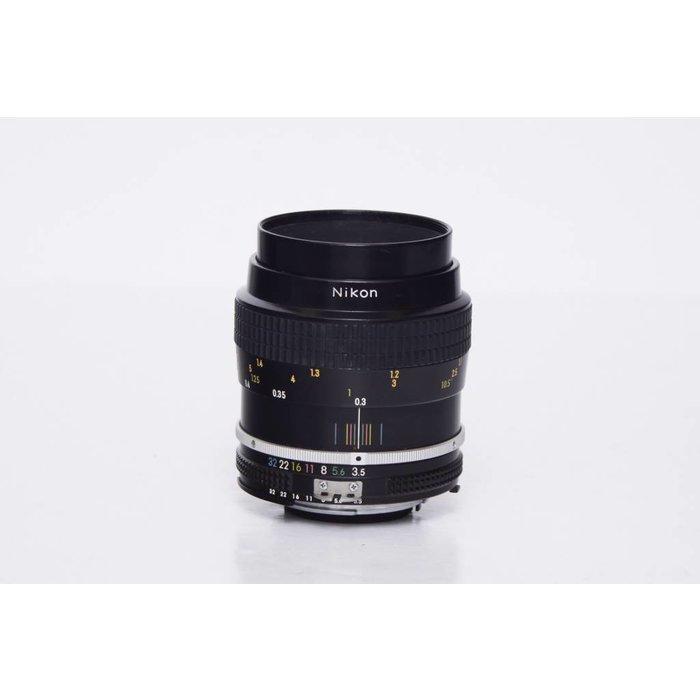 Nikon Nikkor 55mm F/3.5 Micro AI Manual Focus Lens