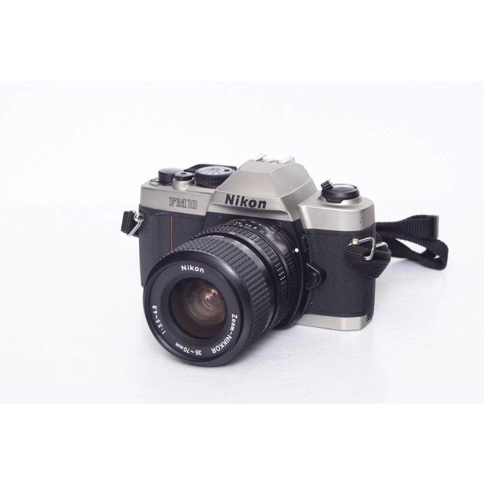 Nikon FM10 with 35-70mm f/3.5-4.8 Lens