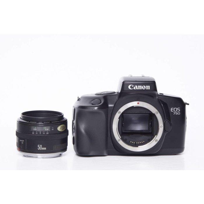 Canon EOS 750 w/ EF 50mm f1.8