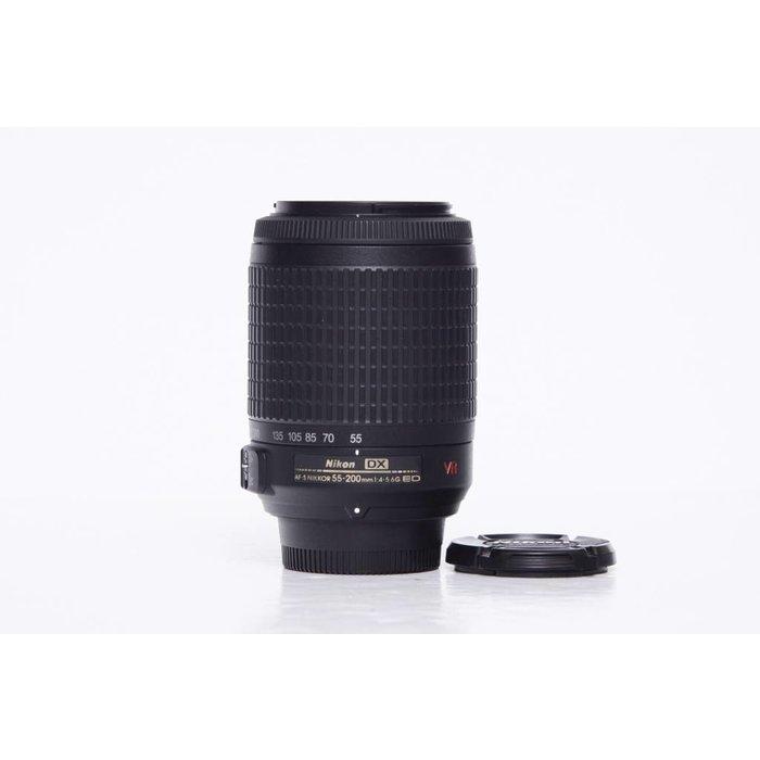Nikon AF 55-200mm F/4-5.6G DX VR