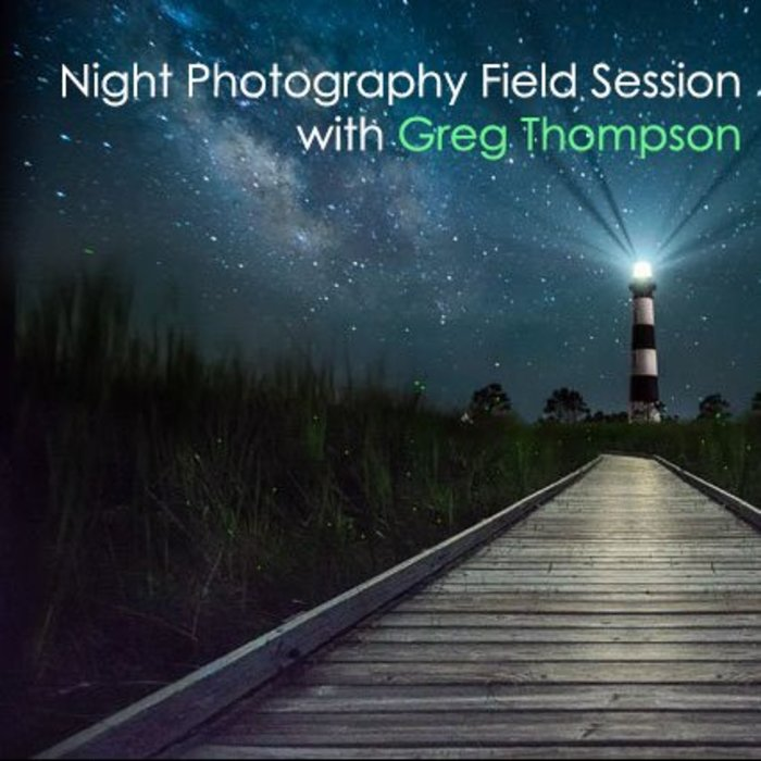 Night Photography Field Session (August 8, 2018)